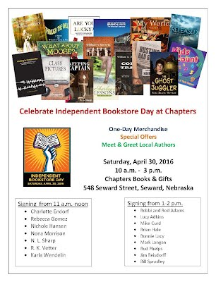 Independent Bookstore Day Schedule